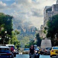 Вид на Акрополь. :: Natali