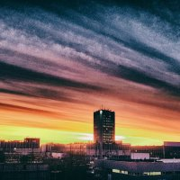 Винтажный закат. :: Алексей Пышненко