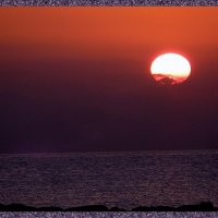 Картина написанная природой.Восход солнца. :: Natali