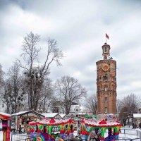 зимой у ратуши :: юрий иванов