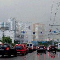 Московский дождь :: Зинаида Каширина