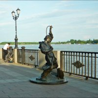 """Скульптурная композиция """"Рыбак"""" :: Надежда"""
