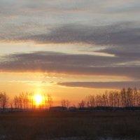 Закат 29-ноября. :: сергей