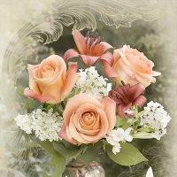 Розы и лилии :: Ольга Бекетова