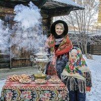 Вас угостить горячим чаем? :: Сергей Черных