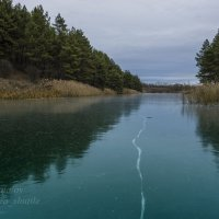 Осенний лед :: Сергей Шаталов