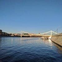 Москва - река,  Крымский мост :: Марина Птичка