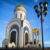 Храм Великомученика Георгия Победоносца на Поклонной Горе :: Сергей Кичигин