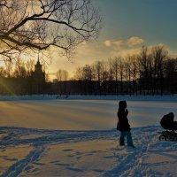 Дивный свет зимнего заката... :: Sergey Gordoff