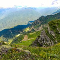 В горах :: The photo