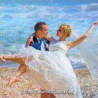 Свадебное Фото. Чёрное море. :: ОЛЕГ ЧЕБАНЕНКО