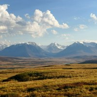 Хребет Южный Алтай :: Дмитрий Сенотрусов