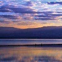 Рассвет на Мертвом море. :: Рустам Илалов