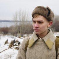 Реконструкция, посвящённая контрнаступлению РККА по Москвой в декабре 1941 г. :: Фёдор Куракин