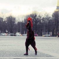 Конь в пальто :: Игорь Корф