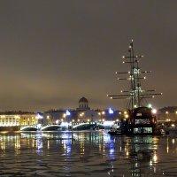 Вид на Биржевой мост (Санкт-Петербург) :: Ольга И