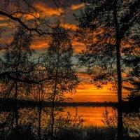 На фоне заката :: Вадим Ефимчик