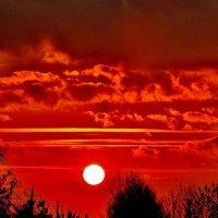 Пламенел рубиновый закат..... :: Восковых Анна Васильевна