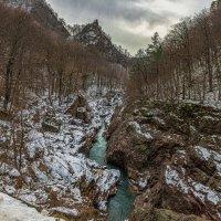 Река Белая в декабре... :: Аnatoly Gaponenko