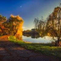 Тихий осенний вечер в Гончарке :: Геннадий Клевцов
