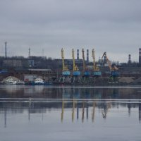 Промышленный пейзаж. :: веселов михаил