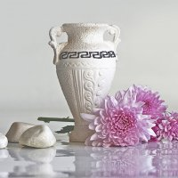 Натюрморт с хризантемами :: Ольга Акимова
