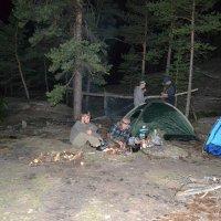 На ночном привале.Поход в Каркаралы. :: Андрей Хлопонин