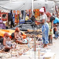 На базаре в Намибии (Африка) :: Kostas Slivskis