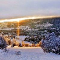 Луч солнца в горах Норвегии :: Aida10