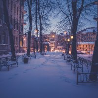 Зимний вечер. :: Евгений Королёв