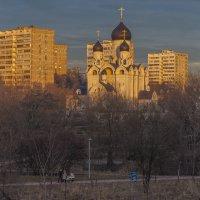 Тихий вечер в Раево :: юрий поляков