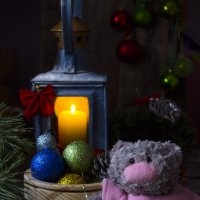 Огонёк для Деда Мороза :: Валерий Хинаки