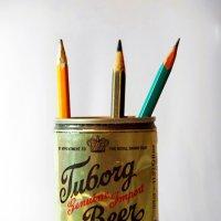 банка с карандашами :: Андрей