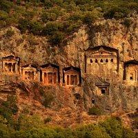 Ликийские гробницы. Турция. :: Galina