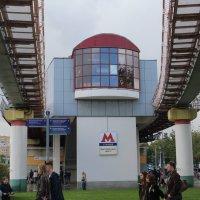 Станция монорельсового метро :: Валерий