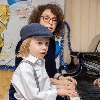 Учитель и ученик. :: Сергей Исаенко
