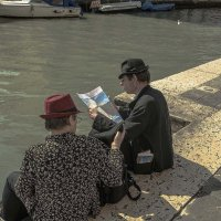Venezia. Turisti sul canale di Cannaregio. :: Игорь Олегович Кравченко