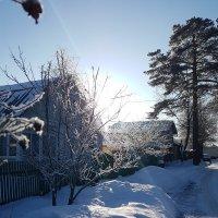 Мой тупичок, той зимой :: Вадим