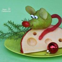 Новогодний мышь. :: Лара Гамильтон