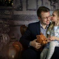 Папа и дочь :: Ная Григ