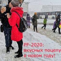 PF-2020: вкусных поцелуев в новом году! :: Андрей Пашис