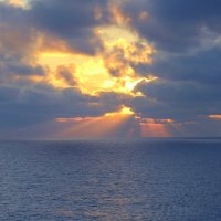 Закат над морем. :: Валерьян Запорожченко