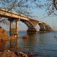 Мост через Волгу в Саратове :: Лидия Бараблина
