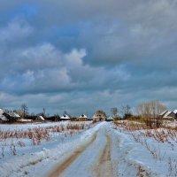 Вот моя деревня. Село Губцево Гусь-Хрустального района Владимирской области :: АЛЕКСАНДР СУВОРОВ