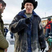 Актёр Олег Руденко-Травин на съёмке фильма ,,Эпидемия,, :: Валентин Кузьмин