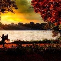 Осень на закате :: Валерьян