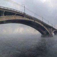 Красноярский мост через Енисей :: Анатолий Володин