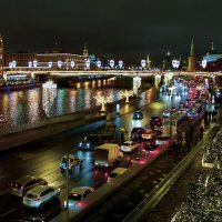 Москва новогодняя :: Геннадий Коробков