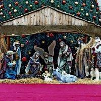 Рождественская инсталляция, Вифлеем. Вертеп. :: Raduzka (Надежда Веркина)