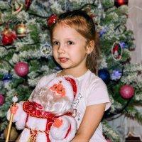 С Дедом Морозом... :: Anatol Livtsov